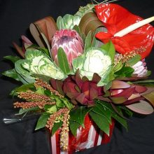 Protea and Anthurium