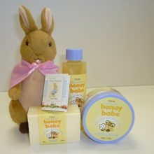 Beatrix Potter pink Peter Rabbit
